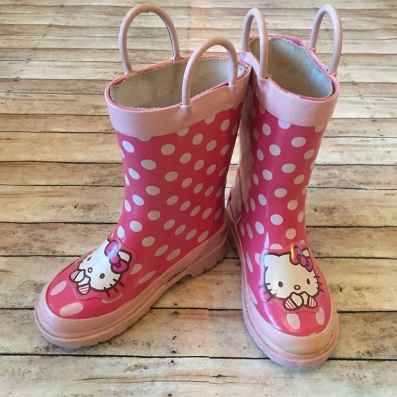c2af50428 Shoes | 50 Off Hello Kitty Rain Boots | Poshmark
